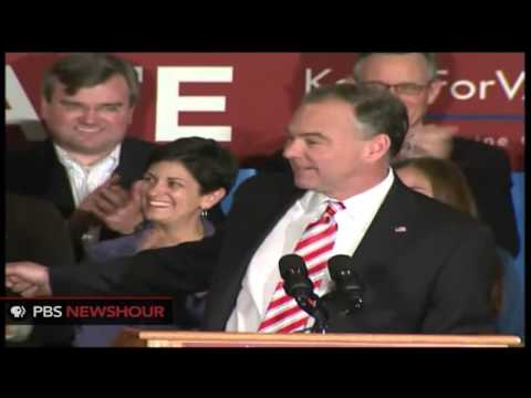 Tim Kaine Wins Senate Seat in Virginia