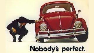 Old Volkswagen Beetle TV Commercial (1960)