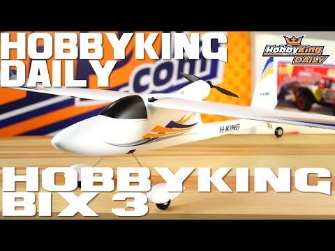 HobbyKing Daily - Hobbyking Bix 3 RELEASE!