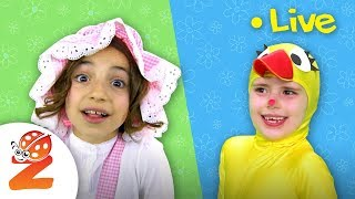 Baa Baa Black Sheep, Wheels on the Bus & more Nursery Rhymes for Kids ⭐LIVE Stream by #ZouzouniaTV