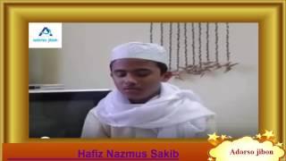 Hafiz Nazmus Sakib ,হাফিয নাজমুস সাকিব,তারাবীহ জামিয়া দারুস সুন্নাহ ,লন্ডন ২২-০৬-২০১৬