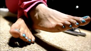 Ebony Feet in heels (shoe/ heel tease removal) Foot Fetish