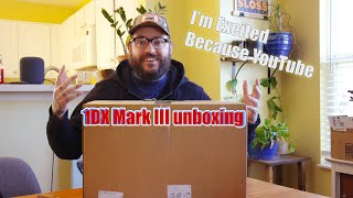 Canon 1DX Mark III unboxing, setup and first impressions