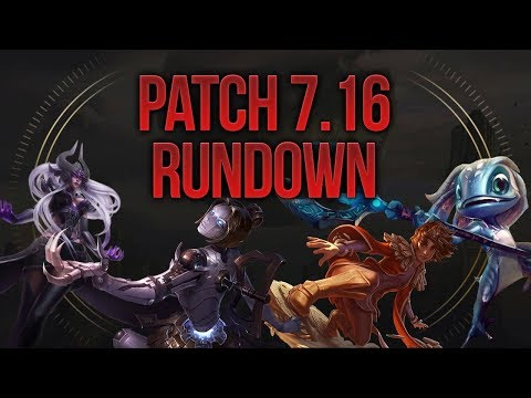 Patch Rundown Patch 7.16 Sandbox Edition [ League of Legends] [German / Deutsch]