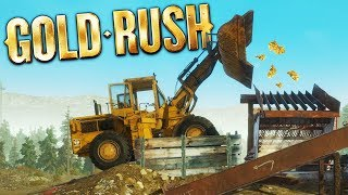 PAYLOADER Dumps MASSIVE GOLD STOCKPILE! - Gold Rush: The Game Gameplay