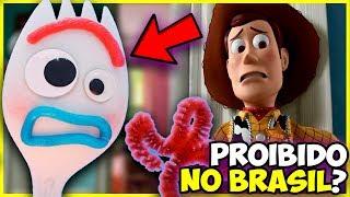 Proibiram o Garfinho de Toy Story 4?