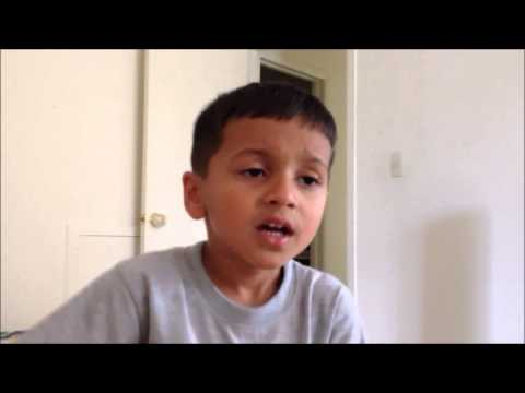 Kadhi Tu - Marathi Song by 5 year old