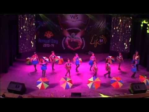 AAJ MAIN UPAR AASMAAN NICHE DANCE BY GRADE-SR.KG(B) IN ANNUAL...