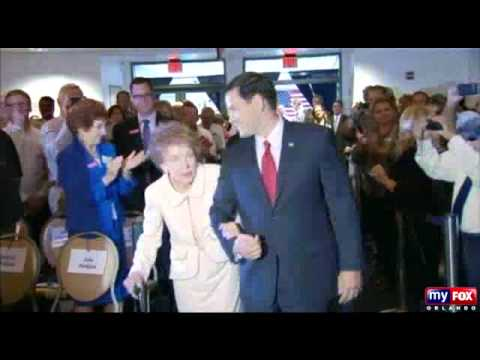 nancy reagan falling with rubio 