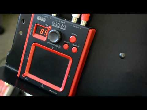 Korg Kaoss Pad In Guitar Effects Chain