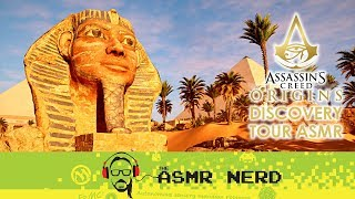 ASMR Gaming Whisper | Assassin's Creed Origins Discovery Tour | Riddle of the Sphinx