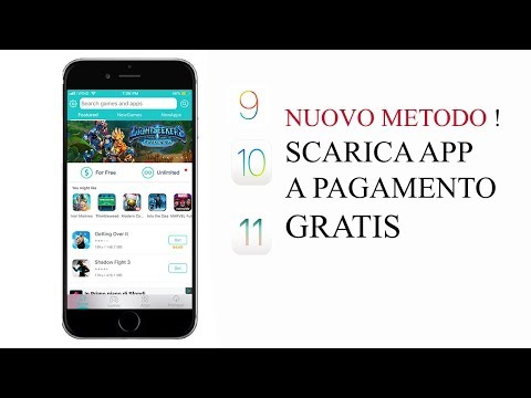 COME SCARICARE APP A PAGAMENTO GRATIS! NUOVO METODO | NO JAILBREAK| NO COMPUTER | iOS 9, 10 e 11