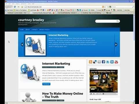 Install Wordpress Locally On Your Home Computer And Practice Making Yo...