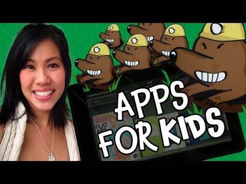 Top 4 Kindle Fire Apps for Kids- Approved by Kids!