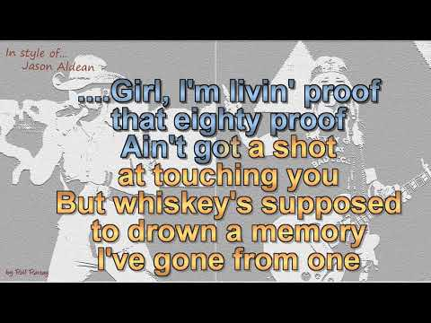 Jason Aldean - Drowns the Whiskey (feat  Miranda Lambert) Cover