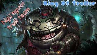 LoL Funny • Những pha troll team ngu người nhất LMHT ✔
