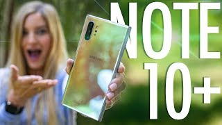 Samsung Galaxy Note 10+ first impressions!