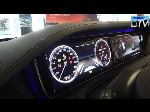 2014 Mercedes S-Class 350 BlueTEC (258hp) - In Detail (1080p FULL HD)