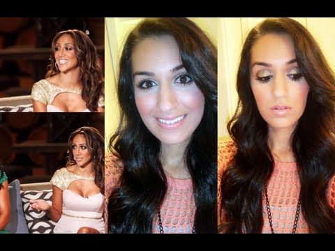 Melissa Gorga RHONJ Reunion Makeup Tutorial! *Glitter Eyeshadow* Real Housewives of NJ