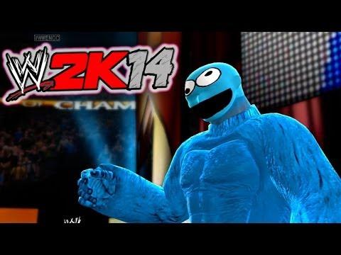 THE COOKIE CHALLENGE! (WWE 2K14)