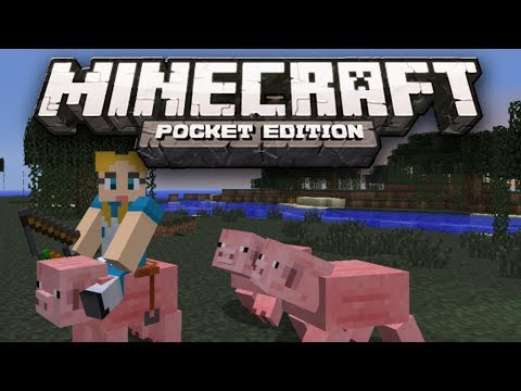 RIDEABLE PIGS MOD! - Ride Pigs in Minecraft Pocket Edition