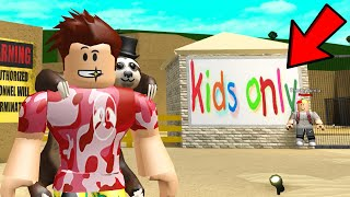 I Snuck Into A KIDS ONLY HEADQUARTERS.. Their Evil Plan Will Shock You! (Roblox)
