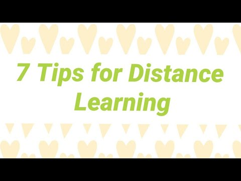 How to Support Your Child's Distance Learning