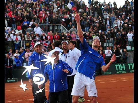 Watch highlights of the fifth rubber in the Davis Cup by BNP Paribas World Group quarterfinal between Italy and Great Britain Click here to subscribe - http:...