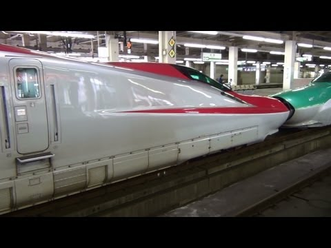 �影��2012年6�10� 13�22�� 大宮��� E6 series & E5 series test run train, departure from �miya Sta. E6 series will probably debut in the spring of 2013. JR East, Sa...