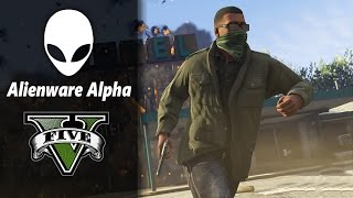 [60 FPS] GTA 5 : Alienware Alpha Core i3 (1080P/High Settings)