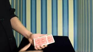 تعلم العاب الخفة # 264 ( التحول المفاجئ , للمبتدئين بالورق ) free magic trick
