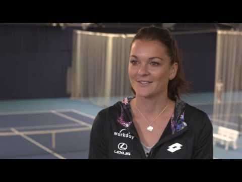Agnieszka Radwanska   2016 Aegon Classic Pre-Tournament Interview