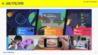 Technology Trends for 2019 EP.6 AR/VR/MR คืออะไร มาแรงแค่ไหน ทำอะไรได้บ้าง