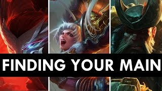 WHO DO I MAIN? - Becoming a One Trick Pony | League of Legends