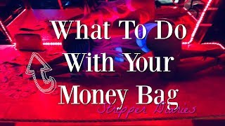 What To Do With Your Money Bag (Tip Out)// STRIPPER DIARIES
