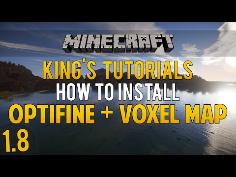 Minecraft 1.8: How to install OptiFine Mod & Voxel Map Mod (Forge & LiteLoader) (1080p60FPS)