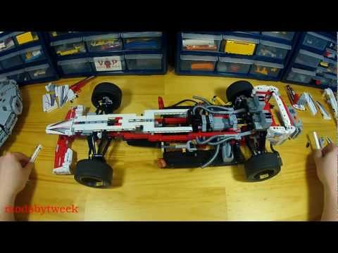 Lego 42000 Grand Prix Racer RC How To Video