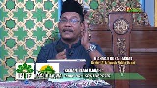 Kajian Islam Ilmiah: Ahmad Rozai Akbar, Tema :Seputar FIQH Kontemporer '' di Masjid TAQWA Dumai
