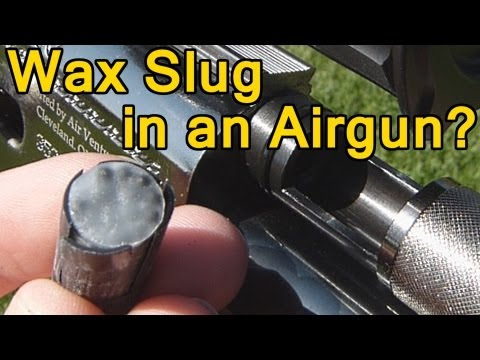 Wax Slug and Sabots in .50 Air Rifle Part 1