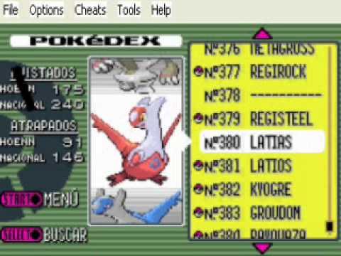 Pokemon esmeralda Como Encontrar a Latios O Latias