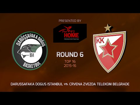 Highlights: Darussafaka Dogus Istanbul-Crvena Zvezda Telekom Belgrade