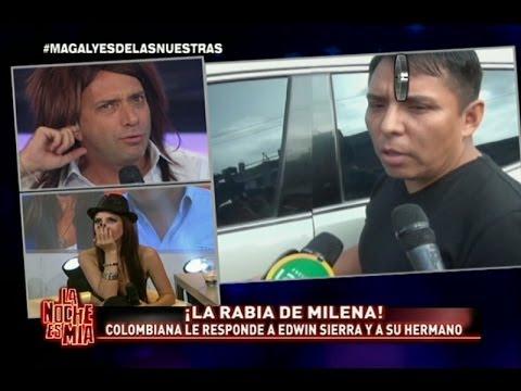Milena Zárate se indignó con las últimas declaraciones de Edwin Sierra