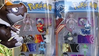 Opening: Pokemon X and Y Figure Gift Packs (Mega Mewtwo X and Mega Mewtwo Y sets)