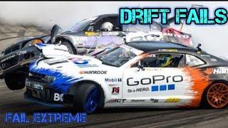 Drift Fails & Crashs - Drift Fail Compilation 2018