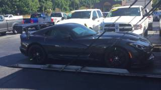 2017 DODGE VIPER ACR EXTREME AERO PACKAGE- Gerry Wood