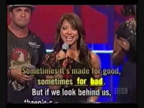 Hi- 5 Kathleen deleon Jones in The Singing Bee (gameshow)