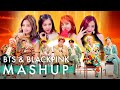 Lagu BTS & BLACKPINK – Idol Fire Forever Young As If It's Your Last (ft. Not Today & Boombayah) MASHUP