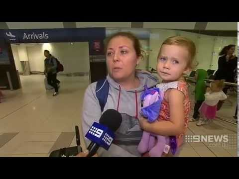 Airport Anger | 9 News Perth