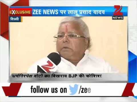 We will ensure BJP's 'ghar wapsi' in Bihar Assembly polls: Lalu Yadav