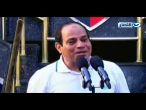 President SiSi Snapped cycling in Cairo marathon together  with  Egyptians